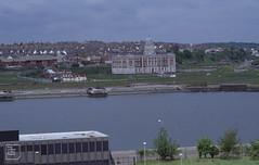 Barry Docks office across dock. May 2001.