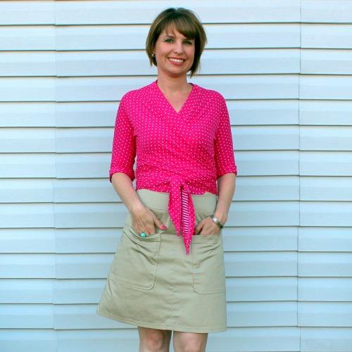Pavlova Top & Simplicity Skirt