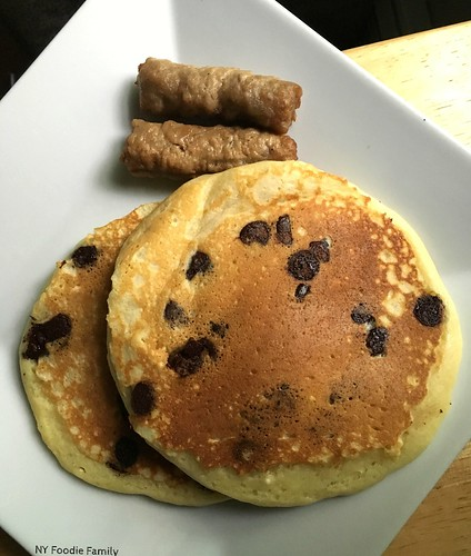 Buttermilk Chocolate Chip Pancakes