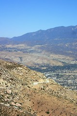 Down San Jacinto mountain to Banning