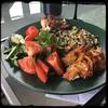 #PuertoRican #BBQ #Pork #KamadoJoe #Homemade #CucinaDelloZio - Caribbean dinner