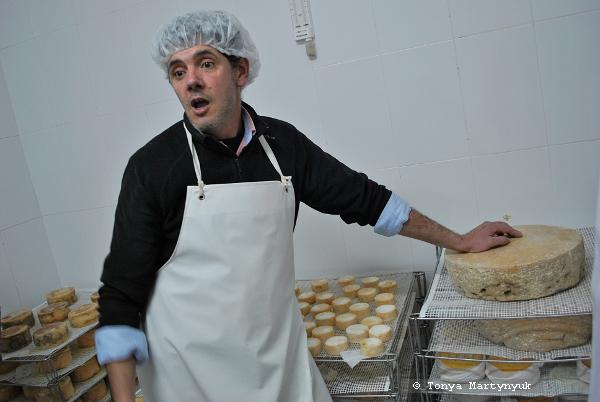 7 - мастер-класс по приготовлению сыра - традиции Португалии