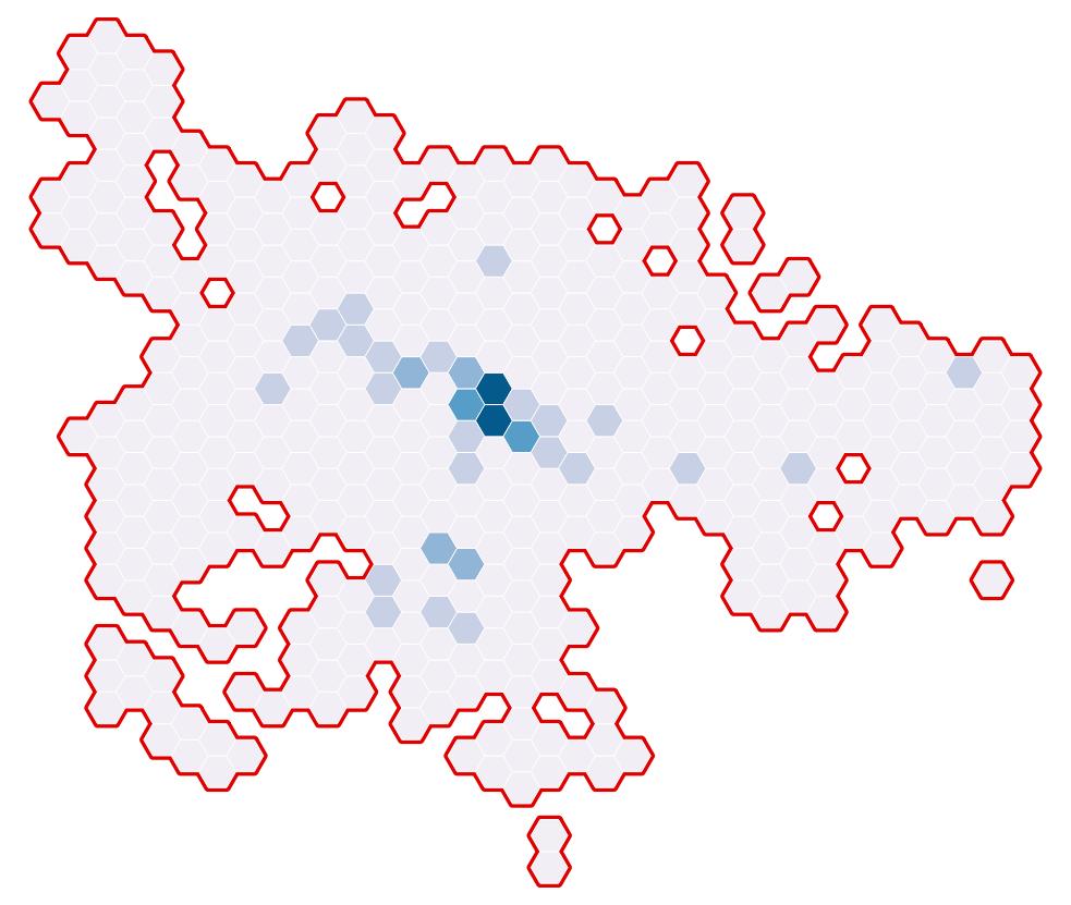 QGIS Polygon Borders