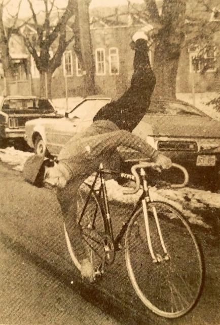 David Steed  artistic cyclist  1982