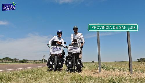 Por las Rutas del Mundo en Bici en San Luis