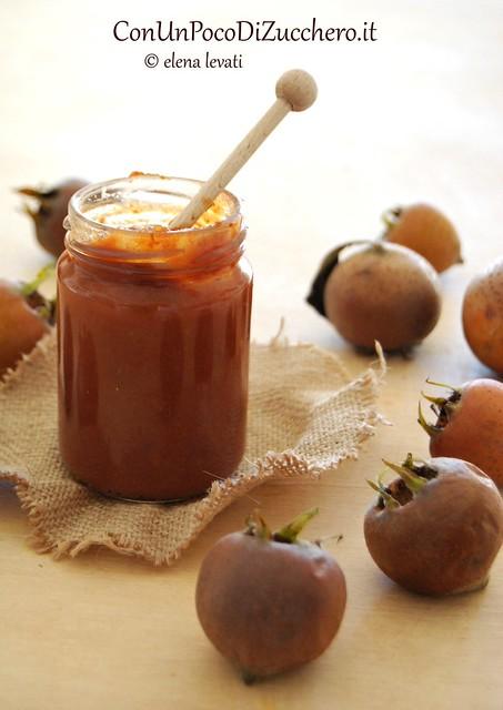 Confettura di nespole italiane al miele 3