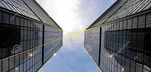 Twin Tower perspective