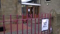 Hamilton  West Parish Church on referendum polling day, September 2014