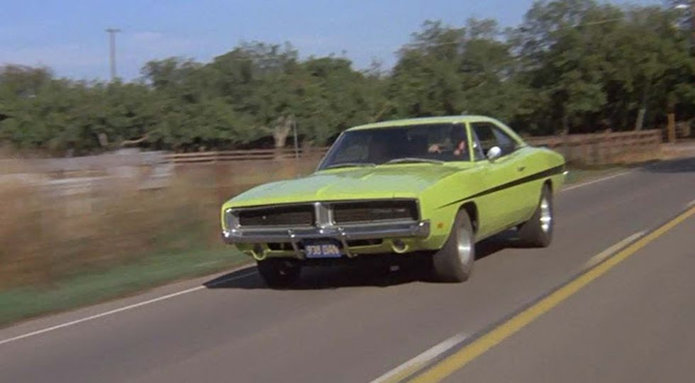 Mopar in the Movies '69 Charger