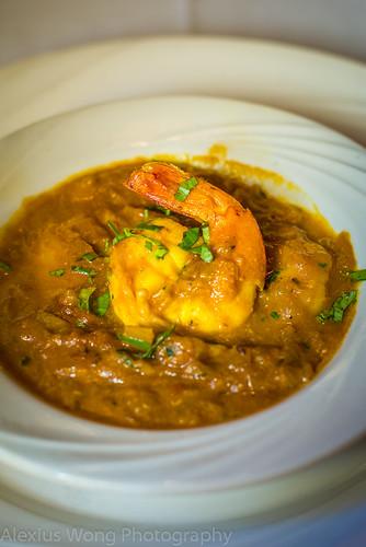 Nepali Style Shrimp Tarkari