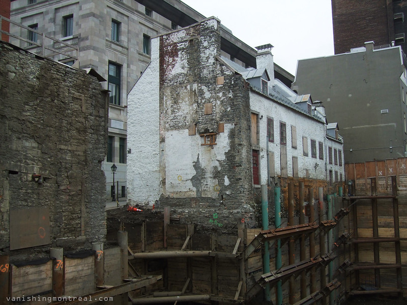 Demolition/Construction Place Jacques-Cartier 5