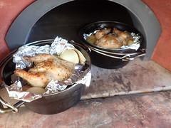 ダッチオーブンでローストチキン (46)