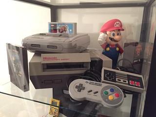 étage NES & SuperNES