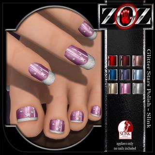 -{ZOZ}- Glitter Stars - Slink pix 2
