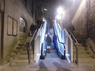 As famosas escaleiras mecánicas xD