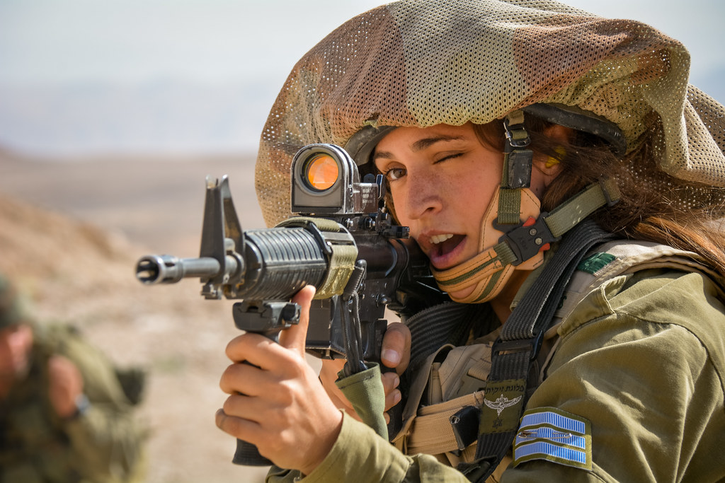 Female Soldiers of the Field Intelligence Corps Train