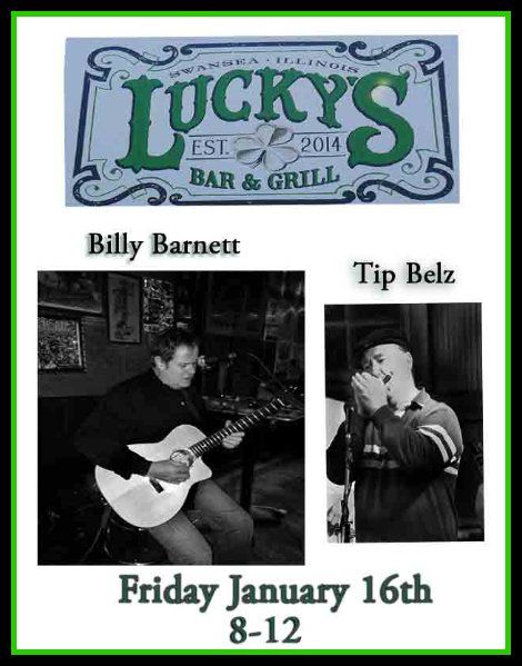 Billy Barnett/Tip Belz 1-16-15