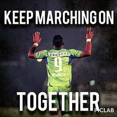 #WeAllLoveWellington #bellmare Keep Marching on Together.