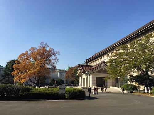 東京国立博物館東洋館にて