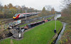 Pendolino and the Trent and Mersey Canal, then and now