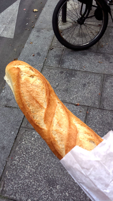 My first French baguette