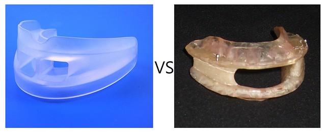 小順子止鼾器(牙套)創新構造與量身訂製止鼾牙套比較