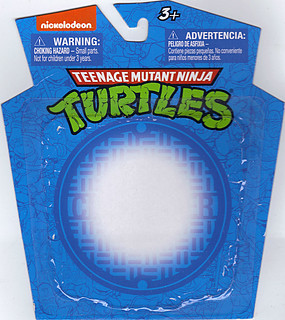 MONOGRAM INTERNATIONAL :: TEENAGE MUTANT NINJA TURTLES; COLLECTIBLE FIGURINES v / LEONARDO ..card backer (( 2014 ))