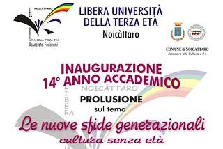 Noicattaro. Inaugurazione anno accademico LUTE 2014 front