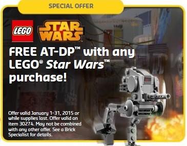 LEGO Star Wars AT-DP 30274
