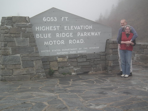 8. Foggy bit on the BlueRidge Parkway.