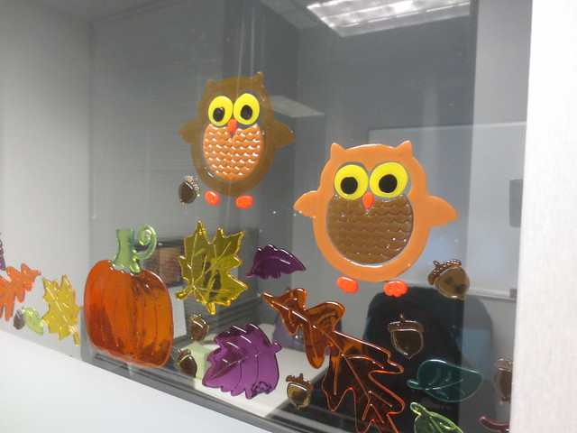 Post-Halloween window cling refresh