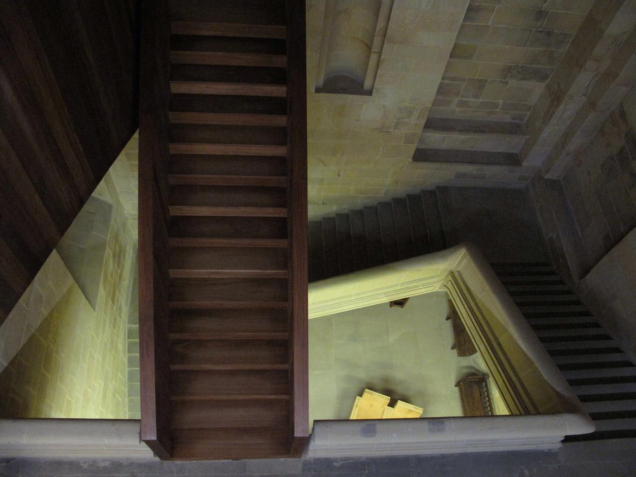 museo san telmo_escalera convento_cúpula_nietosobejano_obra nueva