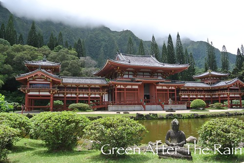 Byodo In Temple Oahu Aug 2014