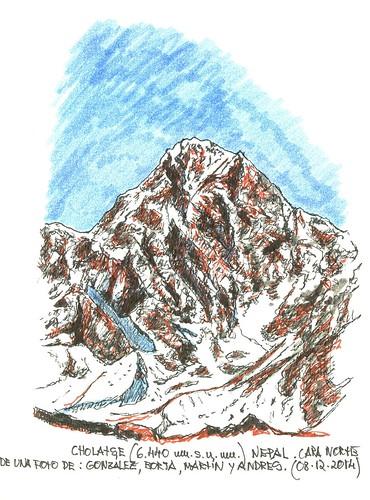 Cholatse (6.440 m.s.n.m.)