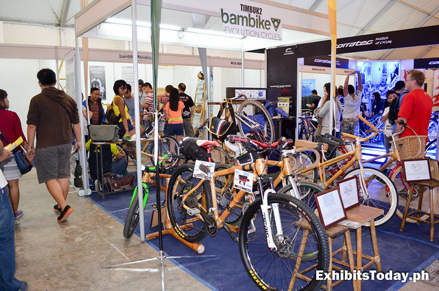 Bambike Evolution Cycles Trade Show Booth