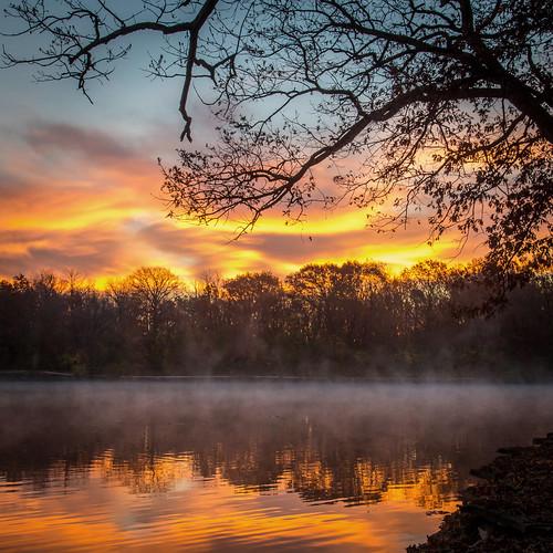lake sunrise canon 6d rodde herricklake forestpreservedistrictofdupagecounty fpddc kevinrodde kevinroddephoto kevinroddephotography