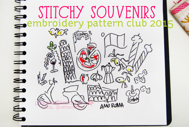 Stitchy Souvenirs embroidery clubs
