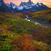 Autumn In The Yukon and the Tombstones by kevin mcneal