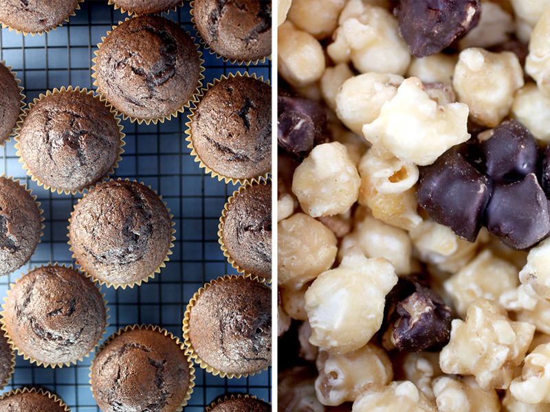 Cupcakes and Popcorn