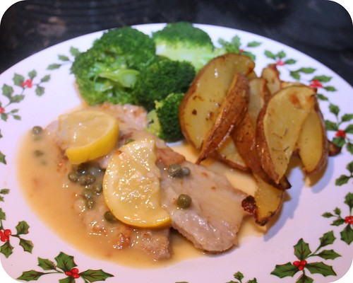 Lemon Veal Scallopine