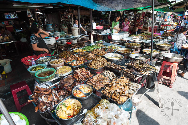 Cooked food for sale