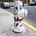 Dalmation Hydrant