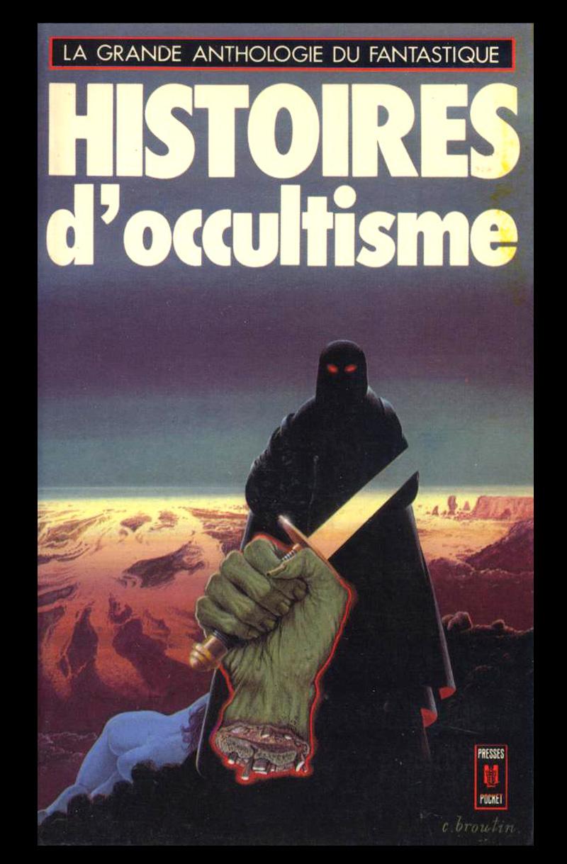 Christian Broutin - Cover Art, Histoires de Occultisme, 1977