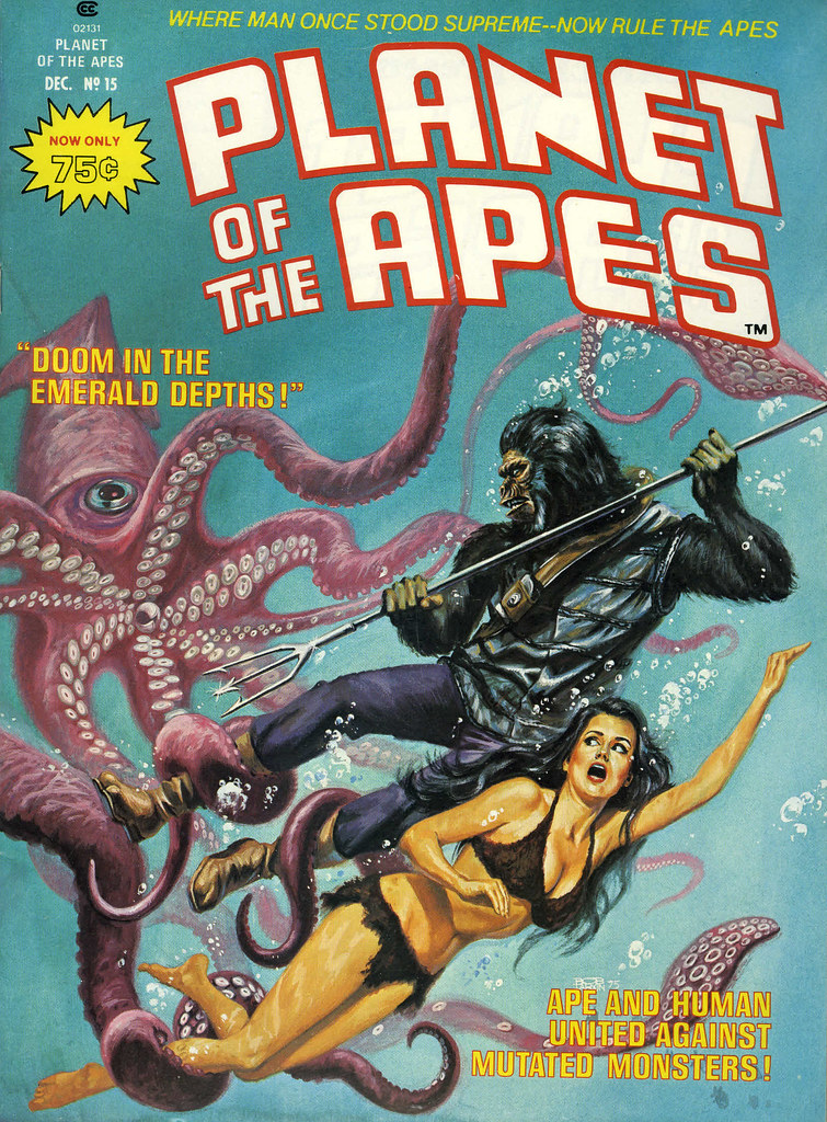Bob Larkin - Planet of the Apes #15 (Marvel, 1975)