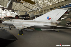 5411 - 94A5411 - Mikoyan-Gurevich MIG-21PFM - The Museum Of Flight - Seattle, Washington - 131021 - Steven Gray - IMG_3564
