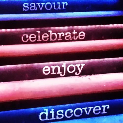 stairway ...  #iamdowntown #cibo #cibopizzeria #yyc #pizzeria #stairs #restaurant #discover #enjoy #celebrate #savour #winter #capturecalgary #letterarts #advent #yycfood