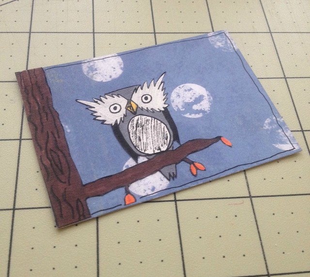 Winter owl ATC