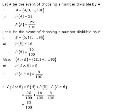 RD-Sharma-class-11 Solutions-Chapter-33-Probability-Ex-33.4-Q-14
