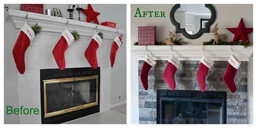 Clearance Rack Christmas Mantel Decor Air Stone