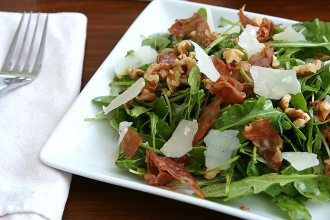 arugula salad figs prosciutto 4